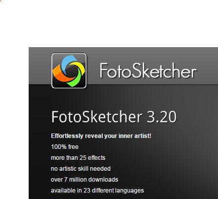 FotoSketcher